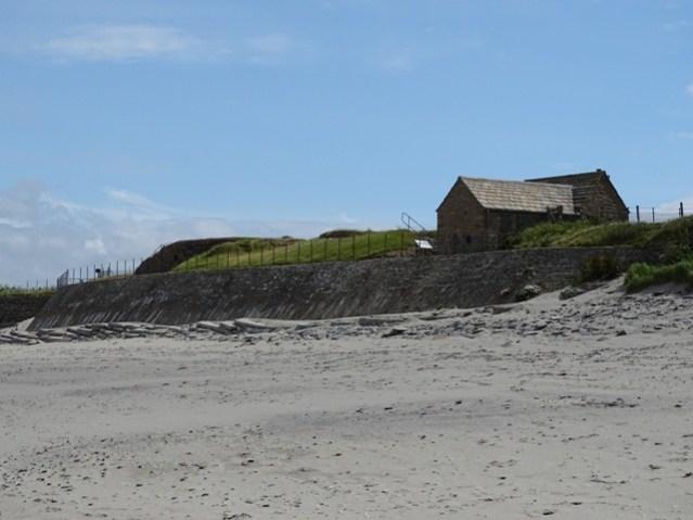 sea wall at Skara Brae Bell