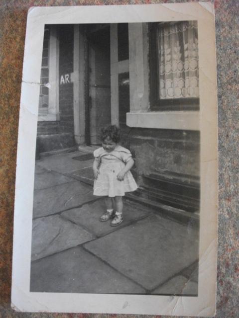 Bernie Bell as a child