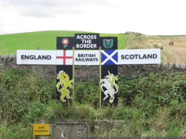 Scotland England Border credit Colin Park