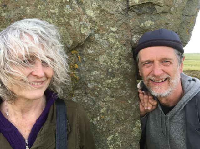Paula Langton and Ken Cheeseman who will be teaching the special voice course for Orkney International  Science Festival