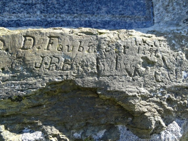 Covenanters Memorial graffiti Credit Bell