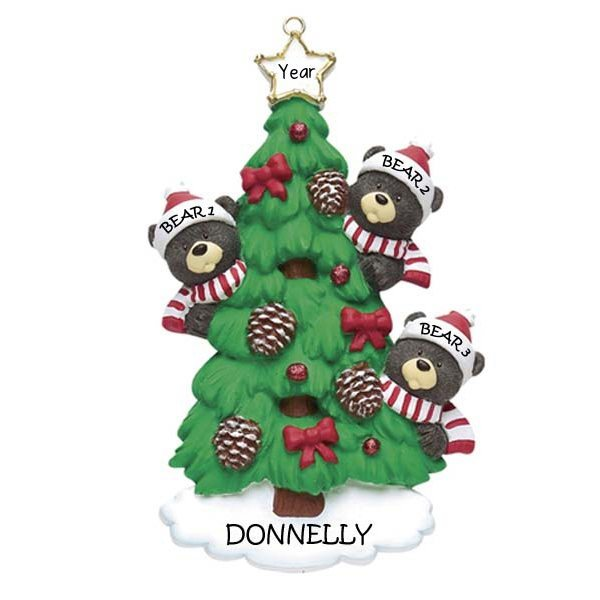 Bear Tree Family 3