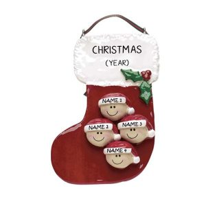 Personalised Christmas Ornament- Stocking 4