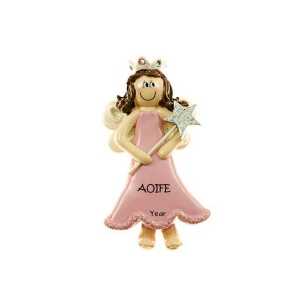 Princess Personalised Christmas Ornament