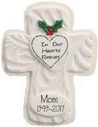 Memorial Cross Ornament