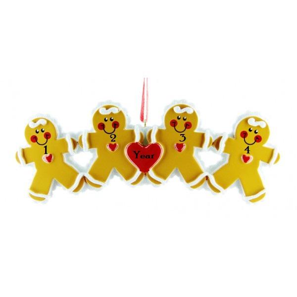 Gingerbread ornament -4 (8-4)