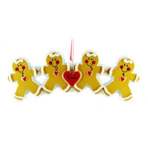 Gingerbread ornament 4