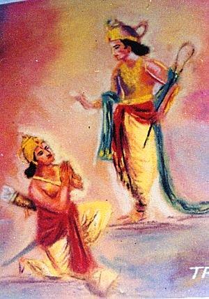 Krishna Painting by Trimbhak Joshi