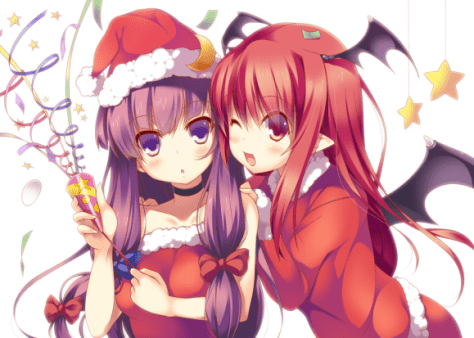 Holiday greetings from Gensokyo