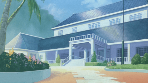 And it's pretty much going to be Sakura's vacation house after the end of the series