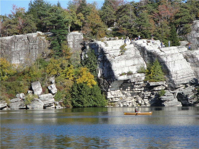 The Sky Lake is Cloudy: Changes at Lake Minnewaska - The