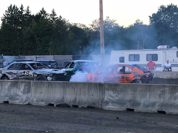 Columbia County Fair Demolition Derby