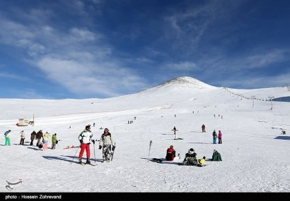 Tehran, Iran - Tehran, Tochal Ski Resort 38