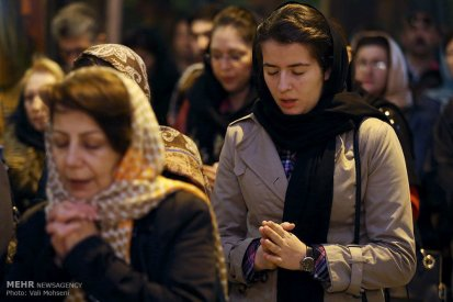 Iran Christmas Christians Church -10