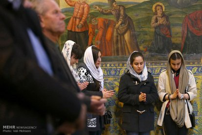 Iran Christmas Christians Church -9