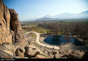 Rosetta Stone UNESCO World Heritage Site Behistun Bisutun Inscription Iran 10
