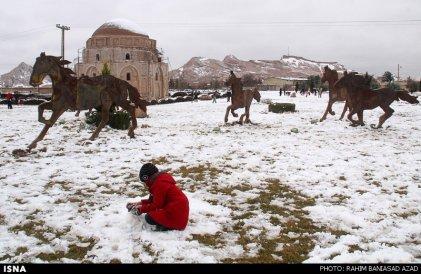 Iran, Kerman Winter Snow 05