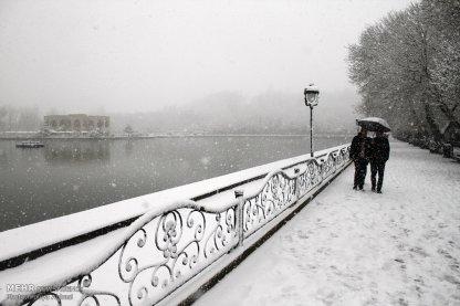 Snowfall in Tabriz Iran 0