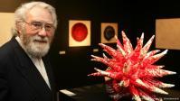 German artist Otto Piene in Tehran Museum of Contemporary Arts in Iran 3