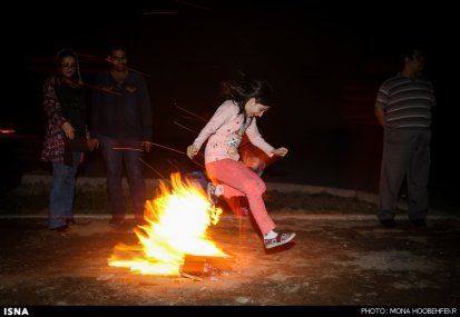 Iran Chaharshanbe Suri Festival of Fire 07