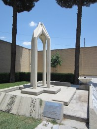 Armenian Genocide Memorial in Isfahan, Iran (dedication date Apr 24, 1975)