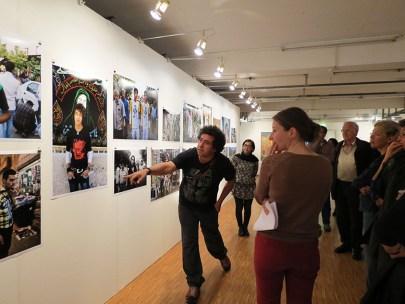 Heidari, Kamran - Iranian film director and photographer 6 - Good News from Iran Exhibition, Pasinger Fabrik, Munich Germany, 2014
