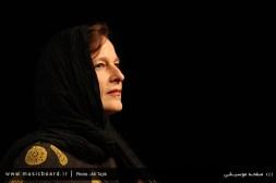 Anja Lechner in Tehran - April 2015 (Photo: Ali Tajik)