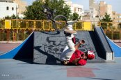 Tehran, Iran -1st Official BMX Competitions in Ghaem (Qaem) Park 3