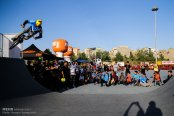 Tehran, Iran -1st Official BMX Competitions in Ghaem (Qaem) Park 4