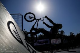 Tehran, Iran -1st Official BMX Competitions in Ghaem (Qaem) Park 8