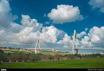 Eighth Bridge or Cable Bridge in Ahvaz, Iran