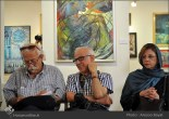 Tehran, Iran - Laleh Gallery - In memory of Hannibal Alkhas by his students 9