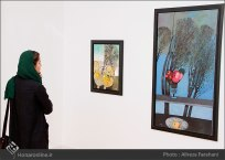 Tehran, Iran - Shahrivar Gallery - Abolghassem Saidi 1st Iran solo exhibition - 4