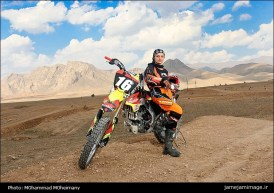 Behnaz Shafiei - Iran woman professional motocross 7