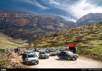 Iran Fars Province Tarom waterfall 8