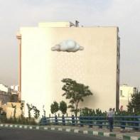 Mehdi Ghadyanloo - Not on wall yet (Photoshop composite) - Hope (Cloud) - 01