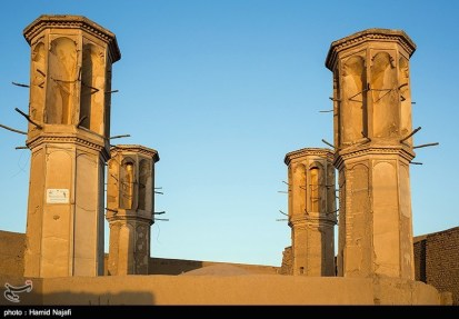 Yazd, Iran - Yazd City - Windcatchers (Ancient Iranian Cooling System) 07