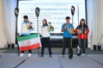 2015 Asian Canoe Polo Championship - Medal Ceremony - Top Scorers - Men (Chinese Taipei), Women (Chinese Taipei), U21 Men (Iran), U21 Women (Iran)