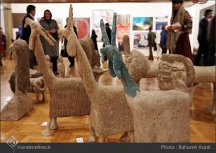 8th Haft Negah (Seven Views) - Iranian expo at Niavaran Cultural Complex, organized by the Aria, Elaheh, Dey, Golestan, Haft Samar, Vaali and Mah-e Mehr galleries - 09