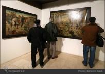 8th Haft Negah (Seven Views) - Iranian expo at Niavaran Cultural Complex, organized by the Aria, Elaheh, Dey, Golestan, Haft Samar, Vaali and Mah-e Mehr galleries - 10