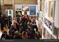 8th Haft Negah (Seven Views) - Iranian expo at Niavaran Cultural Complex, organized by the Aria, Elaheh, Dey, Golestan, Haft Samar, Vaali and Mah-e Mehr galleries - 14