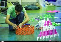 Domino competitions in Hamedan, Iran (2015) 01