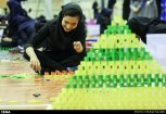 Domino competitions in Hamedan, Iran (2015) 11