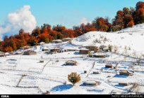 Gilan, Iran – Autumn - Snow in Talesh 00