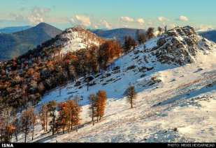 Gilan, Iran – Autumn - Snow in Talesh 07