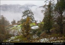 Gilan, Iran – Autumn - Snow - Mountains near Masal 07