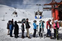 Iran Pooladkaf ski resort winter snow 02