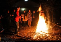 Chaharshanbe Suri - Ancient Fire Festival - Celebration in Iran, 2016 (Photo: IRNA)