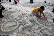 Hormozgan, Iran - Kish Island - Sand sculptures 66