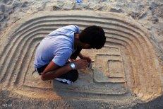 Hormozgan, Iran - Kish Island - Sand sculptures 75